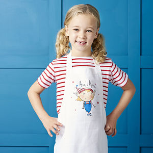 Personalised Child Magic Is Real Apron - gifts for babies & children sale