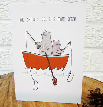 'Do This More Often Dad' Greeting Card