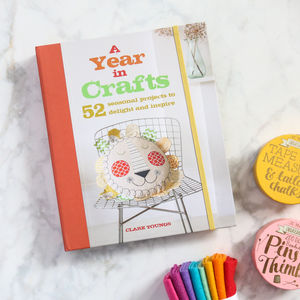 A Year In Crafts Craft Book - craft-lover
