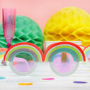 12x Neon Rainbow Glasses