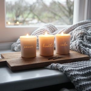 Unplugged Votive Scented Candle Set - gifts for her