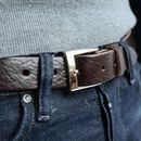 Personalised Message Belt For Fathers Day