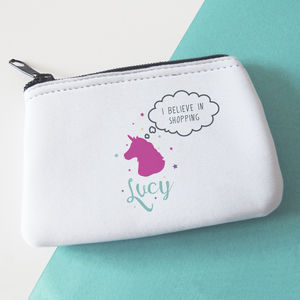 'I Believe' Unicorn Money Purse - bags & purses