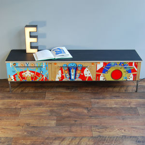 1970s Space Time Pinball Sideboard - dressers & sideboards