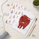 Highland Cow Notebooks