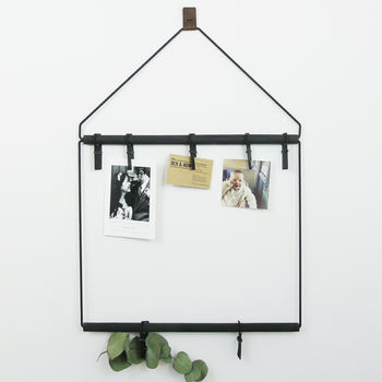 Industrial Hanging Noticeboard