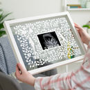 Personalised Baby Scan Papercut