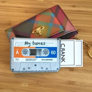 Personalised Tape Cassette Card Holder Travel