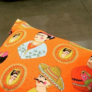 Frida Kahlo Fantastico Cushion Cover - summer sale