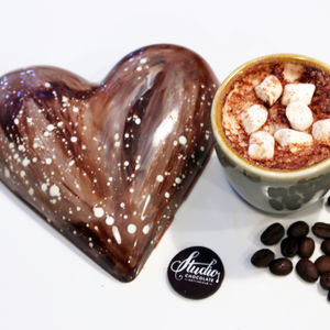 'I Like You A Latte' Chocolate Heart Bar - valentine's gifts for him