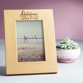 'The Adventures Of' Personalised Photo Frame - gifts