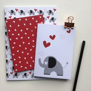 Elephant Notebook Party Bag Filler Or Stocking Filler