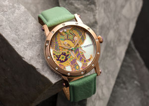 Bertha Betsy Ladies Leather Strap Watch - watches