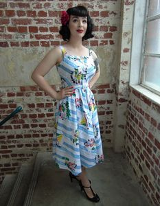 1940's Inspired 'Clara' Dress And Bolero Jacket