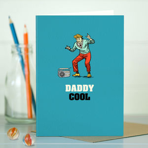 Dad 'Dad Cool' Card For Dad - cards for grandfathers