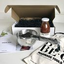 Gourmet Bbq Tools And Marinade Gift Set