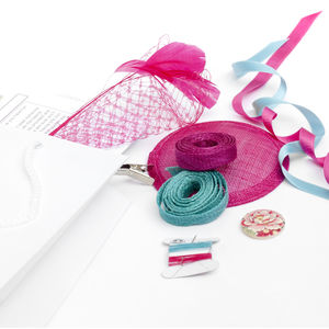 Fascinator Making Craft Kit - head pieces