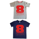Age Number Kids T Shirt
