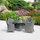 Monte Carlo Four Seater Dining Set