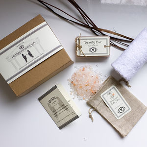 Personalised 'Friendship' Mini Spa Gift Set - soap gift sets