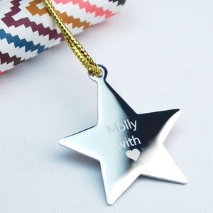 Personalised Gift Tag - tree decorations
