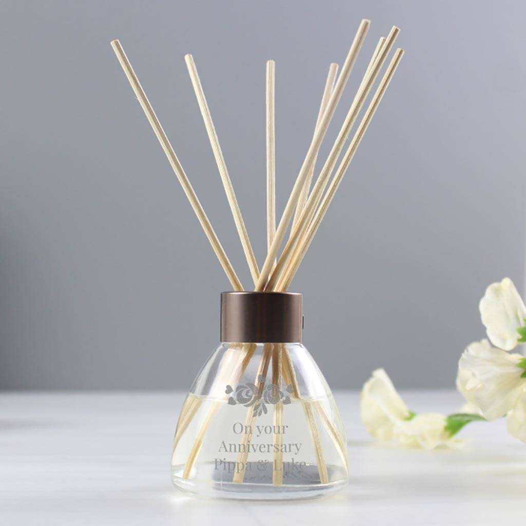 Personalised Diffuser, Vintage Rose