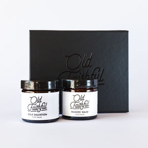 Old Faithful Hand And Foot Balm Set