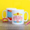 Personalised Superhero 'Thank You Teacher' Mug