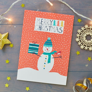 Snowman Christmas Card Pack - view all sale items
