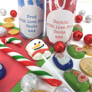 Stocking Filler With Sweets Personalised Christmas Gift