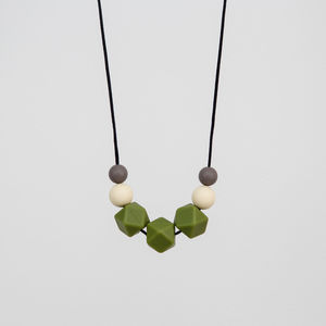 Camo Teething Necklace - more