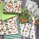 Woodland Bumper Christmas Wrapping Paper Kit