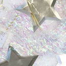 Iridescent Foil Party Curtain Backdrop Decoration