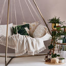 Outdoor Luxury Hanging Teepee Bed