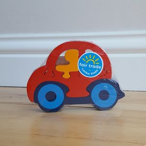 Jigsaw Wooden Car