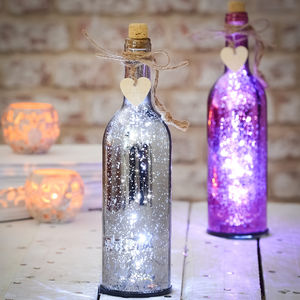 Sparkle Light Up Firefly Bottles - top 100 decorations