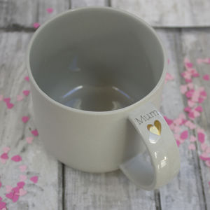 Handmade Ceramic Mug For Mum