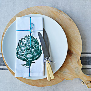 Artichoke Napkin - kitchen