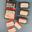 The Big Movie Quiz Game