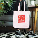 Ain't No Hood Like Motherhood Organic Tote Bag