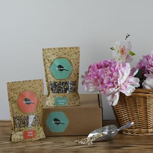 Robin Bird Seed Gift Box