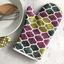Catalina Oven Glove, Geometric Pot Holder