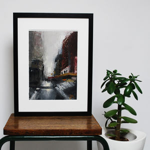 New York Forever Original Oil Painting - canvas prints & art