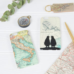 Personalised Map Phone Case
