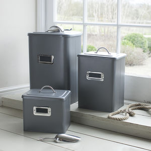 Pet Food Storage Bin - kitchen
