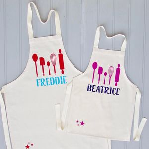 Personalised Children's Baking Apron - gifts sale