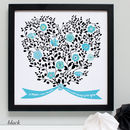 mums family tree flowers heart gift