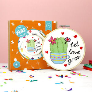 Let Love Grow Embroidery Craft Kit