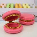 Raspberry Macaron Trinket Box