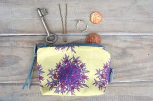 Lemon Flowers Purse - purses & wallets